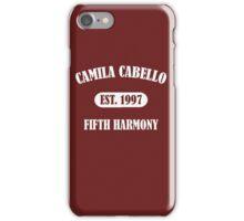 Camila Cabello College Fifth Harmony iPhone Case/Skin