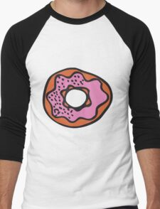 doughnut Men's Baseball ¾ T-Shirt