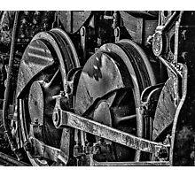 Heavy Wheels Photographic Print