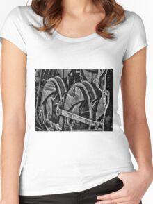 Heavy Wheels Women's Fitted Scoop T-Shirt