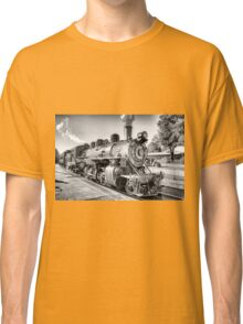 Saturated Steam In B&W Classic T-Shirt