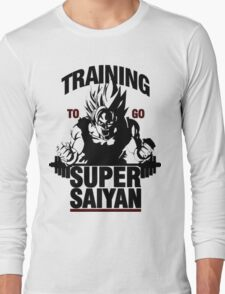 Training to go Super Saiyan | Dragon Ball Long Sleeve T-Shirt