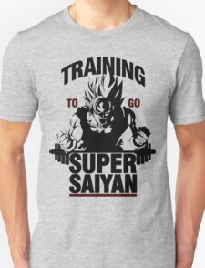 Training to go Super Saiyan | Dragon Ball T-Shirt