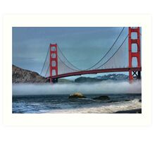 Fog Layer Art Print