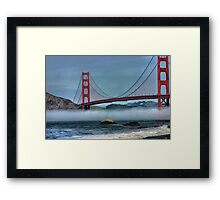Fog Layer Framed Print