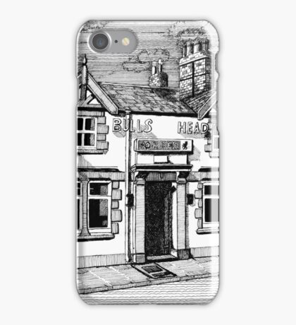 258 - BULL'S HEAD, RHOS - DAVE EDWARDS - INK (2015) iPhone Case/Skin