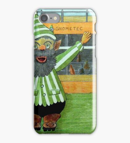 417 - FOOTBALLING GNOME - DAVE EDWARDS - COLOURED PENCILS - 2015 iPhone Case/Skin