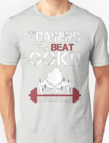 Training to Beat Goku (or atleast Krillin) | Dragon Ball T-Shirt