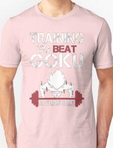 Training to Beat Goku (or atleast Krillin)   Dragon Ball T-Shirt
