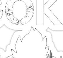 Training to Beat Goku (or atleast Krillin) | Dragon Ball Sticker