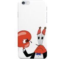 SAD MR CRABS iPhone Case/Skin