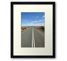 Mad Max Was Here Framed Print