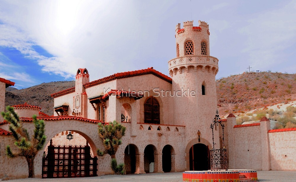 Scotty's Castle by Kathleen Struckle