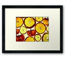 Fruit Land Framed Print