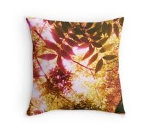 in mums' garden it grows Throw Pillow