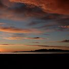 Sunset at Great Salt Lake by Susan Russell