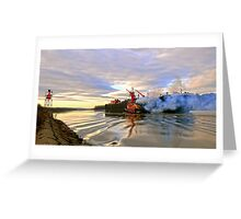 Port To Harbor Greeting Card