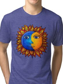 Eclipsing Crescent Tri-blend T-Shirt
