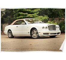 2008 Bentley AZURE Cabriolet Poster
