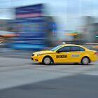 Cab on Flinders by Megs81