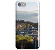 edinburgh skyline iPhone Case/Skin