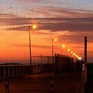 Sunset over my Hometown Jetty by aussiedi
