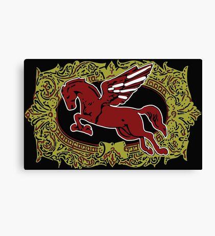 Pegasus - Cigar Label Canvas Print