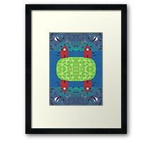 Spooked Framed Print