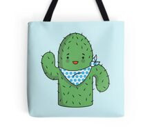 Mr J.G Cactus (sky) Tote Bag