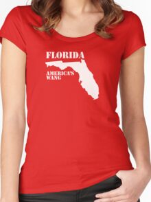 Florida, America's Wang Women's Fitted Scoop T-Shirt