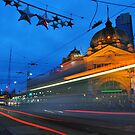 Flinders St Station, Melbourne by Megs81