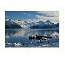 Cold Day at Garibaldi Lake Art Print