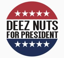 Deez Nuts For President by fysham