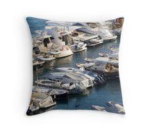Sorrento Marina Throw Pillow