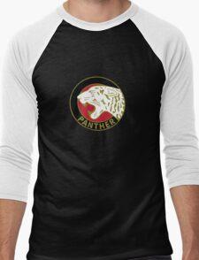 Panther Motorcycle Logo Men's Baseball ¾ T-Shirt