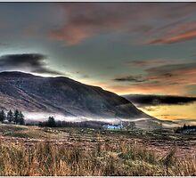 A Highland Landscape by Derek Dobbie