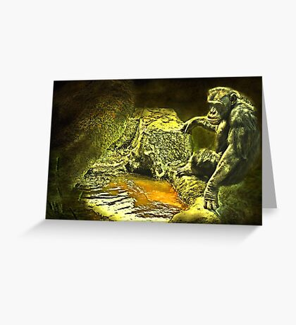 """""""Time for a Dip ..."""" Greeting Card"""