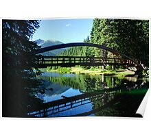 Rainbow Bridge at Lightning Lake Poster