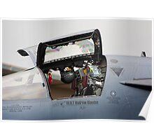 F111 Cockpit Poster