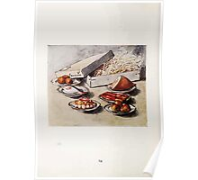 The Tale of Two Bad Mice Beatrix Potter 1904 0018 Beautiful Lobsters Ham Fish Pudding Pears Oranges Poster
