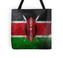 Kenya Grunge Tote Bag