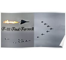 F111 Final Farewell Poster