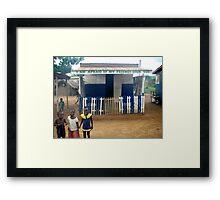 African Children  Framed Print
