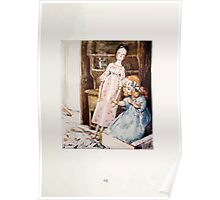 The Tale of Two Bad Mice Beatrix Potter 1904 0069 Doll House Disaster Poster