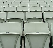 Empty Seats MCG by Jennifer Mosher