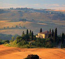 Tuscan Villa by Inge Johnsson