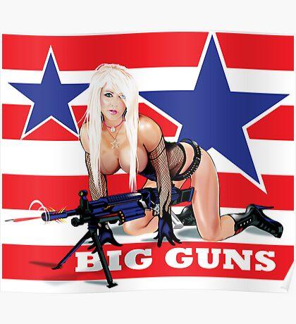 Cammee Lee Big Guns Poster