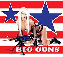 Cammee Lee Big Guns Photographic Print