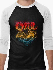 One Heart Men's Baseball ¾ T-Shirt