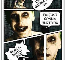 Jared Leto Joker Comic by galaxysalvo